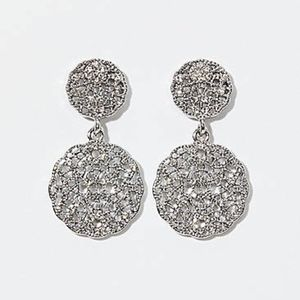 New Ann Taylor Loft Pave Drop earrings